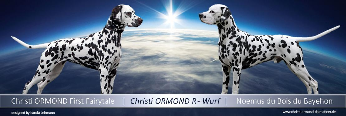 Christi ORMOND R - Wurf