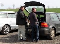 Techniken beim verlassen des Fahrzeuges